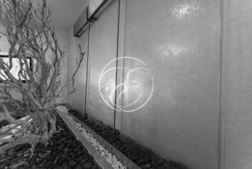 Mur d'eau minimaliste 4