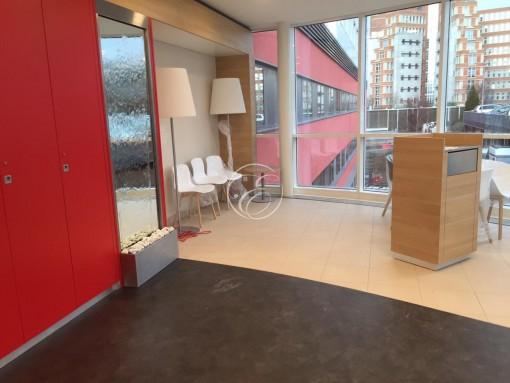 Mur d'eau miroir CHU Lille Relay 1