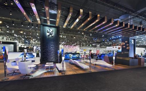 Mondial de l'automobile Peugeot Frankfort 2