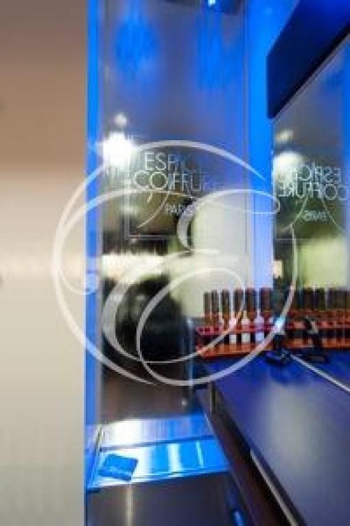 Mur d'eau salon de coiffure ECP Paris 5