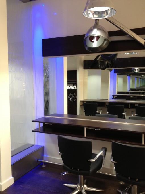 Mur d'eau salon de coiffure ECP Paris 2