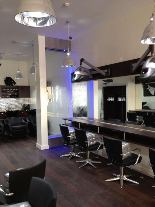 Mur d'eau salon de coiffure ECP Paris 6