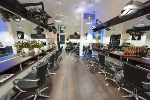 Mur d'eau salon de coiffure ECP Paris 1