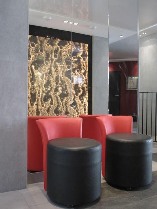 Mur de bulles Hôtel du Vieux Saule Paris 5