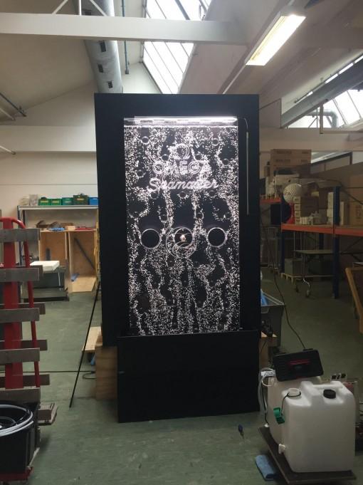 Mur de bulles prototype pour Oméga 5