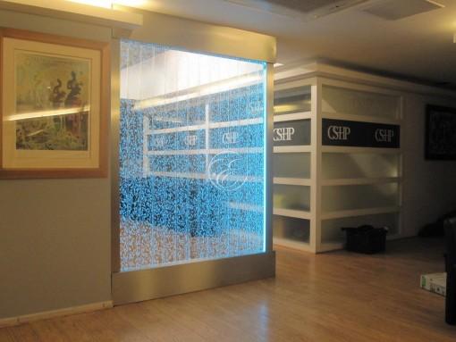 Mur de bulles Clinique esthétique Paris 4