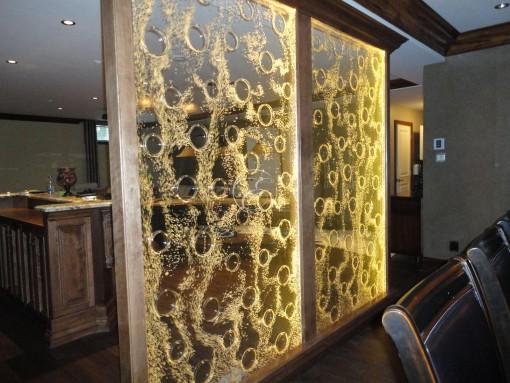 Mur de bulles Pokwall© chez un particulier 4