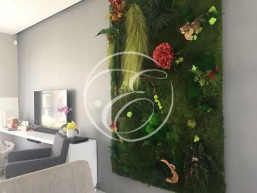 Mur végétal chez un particulier 1