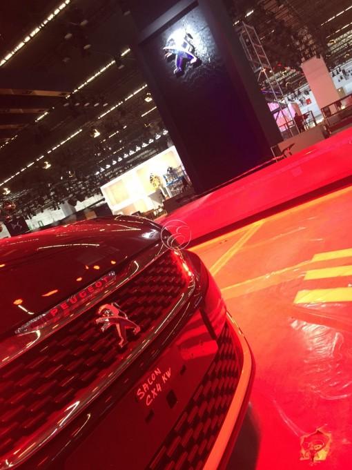 Mondial de l'automobile Peugeot Frankfort 4