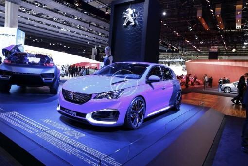 Mondial de l'automobile Peugeot Frankfort 3