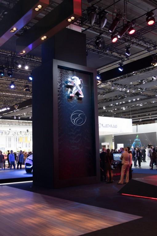 Mondial de l'automobile Peugeot Frankfort 1
