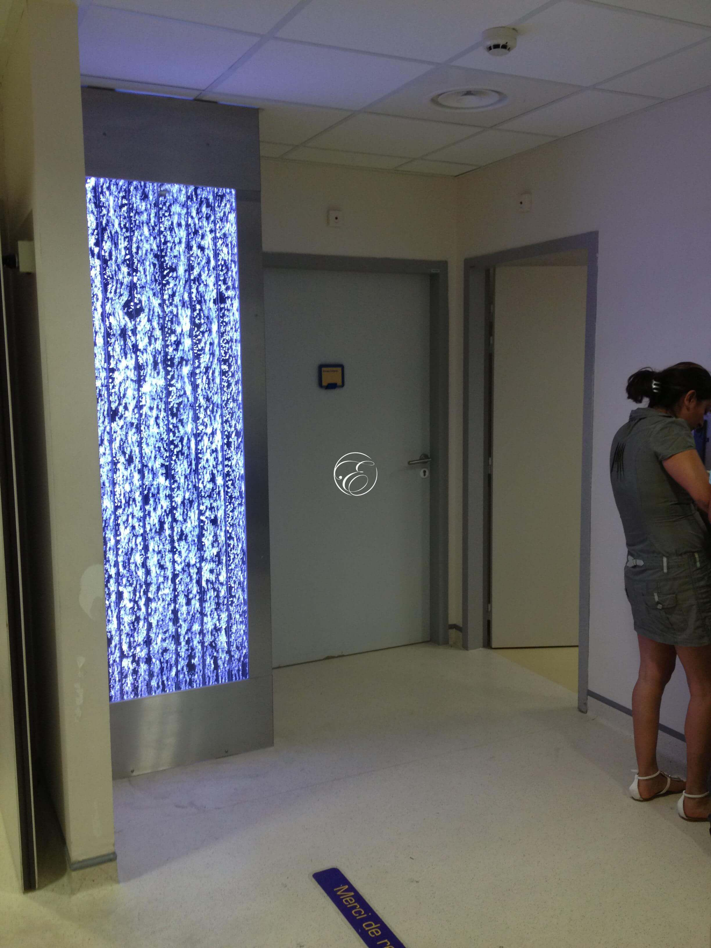 mur de bulles h pital saint jean perpignan. Black Bedroom Furniture Sets. Home Design Ideas