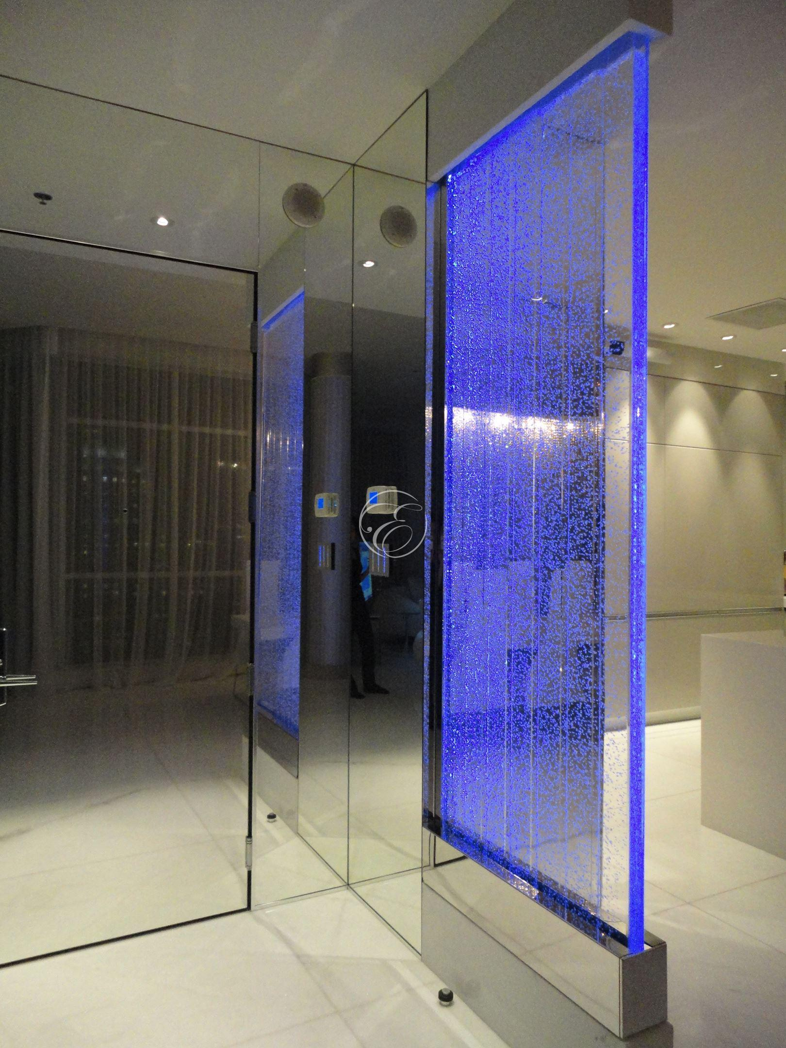 mur de bulles design chez un particulier. Black Bedroom Furniture Sets. Home Design Ideas