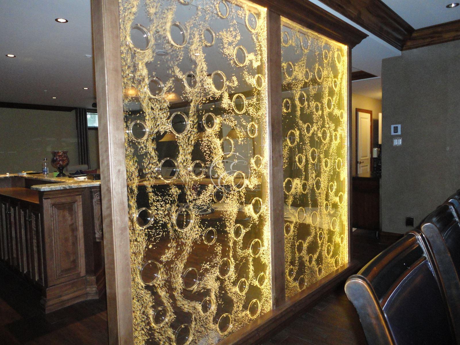 mur de bulles pokwall chez un particulier. Black Bedroom Furniture Sets. Home Design Ideas
