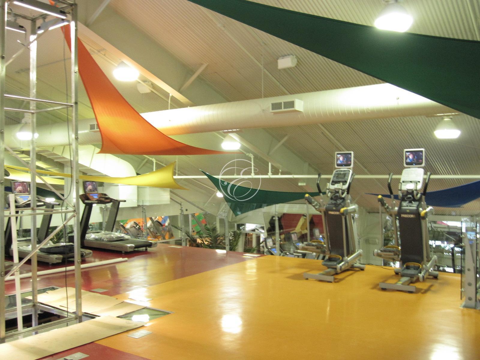 Salle d'eau sport